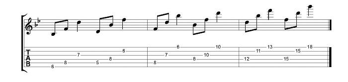 triads exercise 6