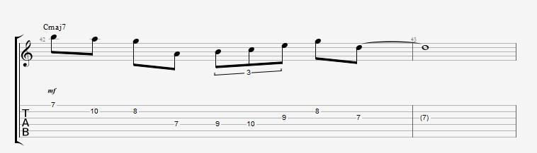 Scales in Diatonic Arpeggios - ex 1