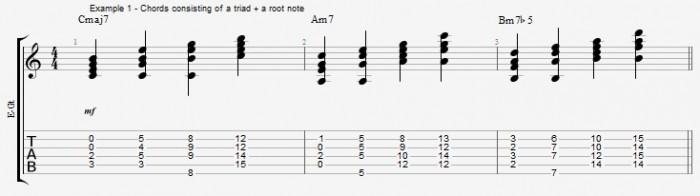Jazz Chord Essentials - Triads - ex 1