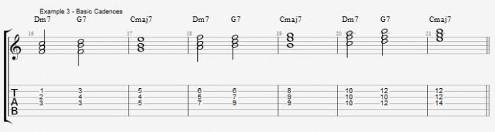 Jazz Chord Essentials - Triads - ex 3
