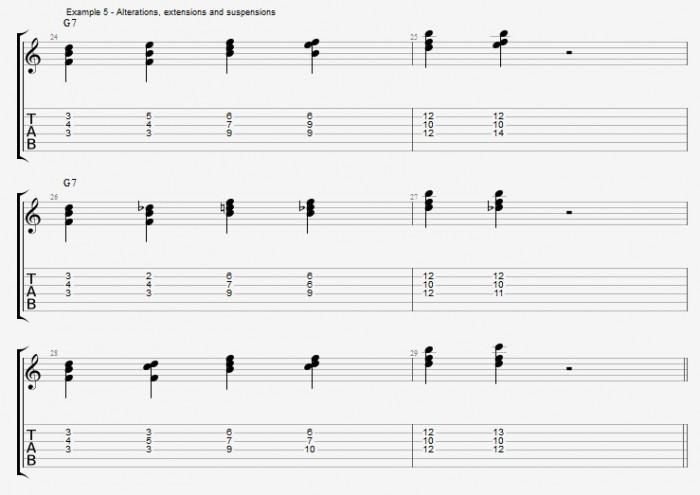 Jazz Chord Essentials - Triads - ex 5