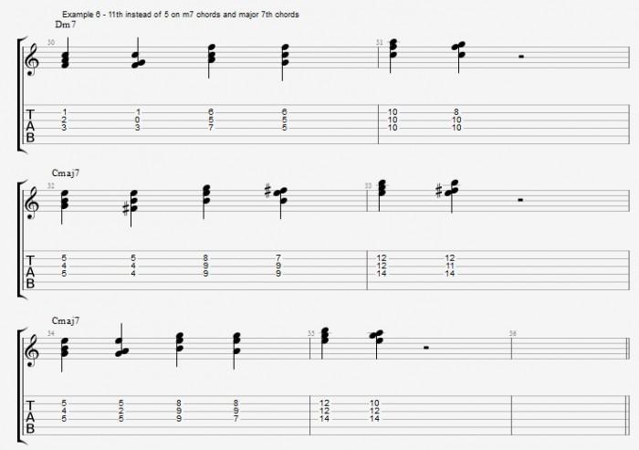 Jazz Chord Essentials - Triads - ex 6