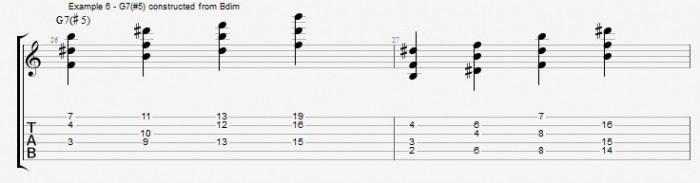 Jazz Chord Essentials - Open Triads Ex 5