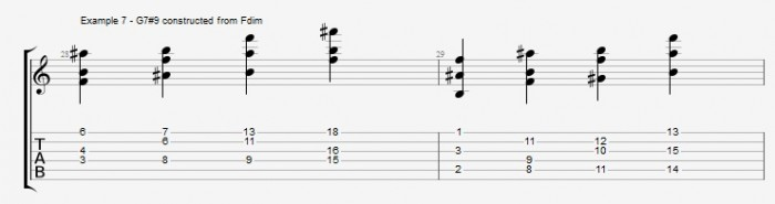 Jazz Chord Essentials - Open Triads Ex 7