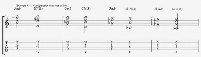 Jazz Chord Survival Kit - ex 4