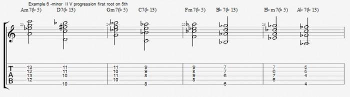Jazz Chord Survival Kit - ex 6