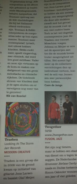 2014-09-12 Jazzism Review Coen De Jonge