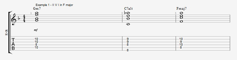 Open Triads in Solos - example 1