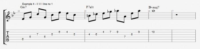 Quartal Harmony in Solos ex 4