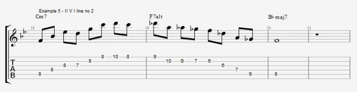 Quartal Harmony in Solos ex 5