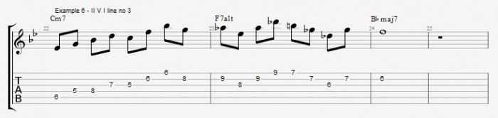 Quartal Harmony in Solos ex 6