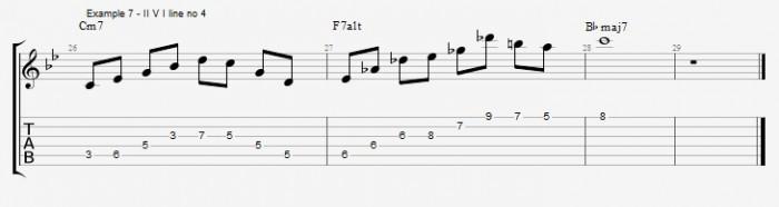 Quartal Harmony in Solos ex 7