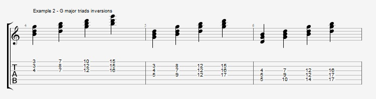 Diminished Scale on Dom7th Chords ex 2