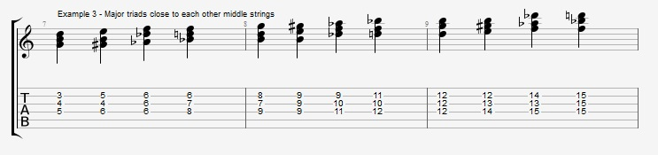 Diminished Scale on Dom7th Chords ex 3