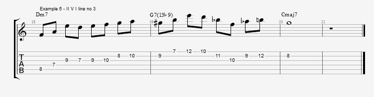 Diminished Scale on Dom7th Chords ex 6