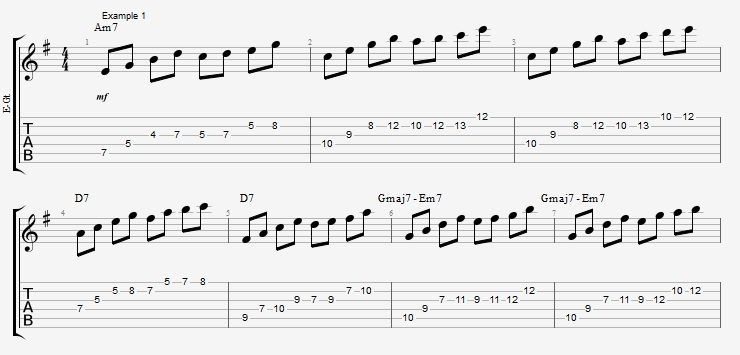 Get more out of the licks you already know - ex 1