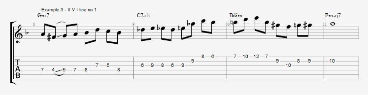 #IVdim suspension of the I chord ex 3