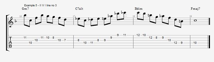 #IVdim suspension of the I chord ex 5