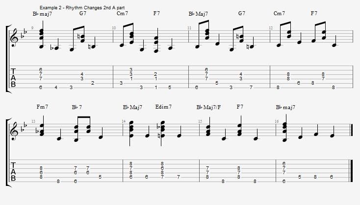Chords and Walking Bass – part 2 - Jens Larsen
