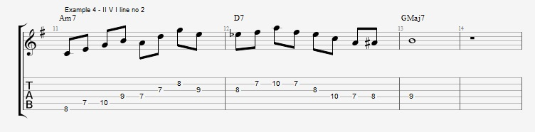 Harmonic minor dominant lines ex 4