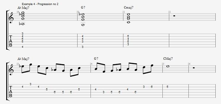 IV minor chords ex 4
