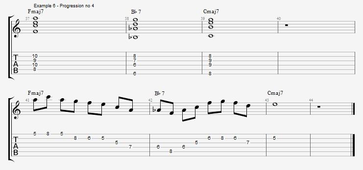 IV minor chords ex 6