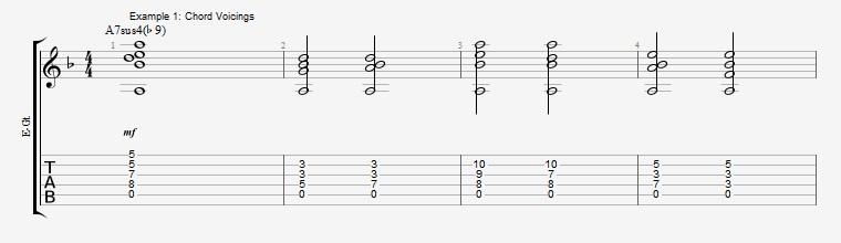 Phrygian Chords  Ex 1