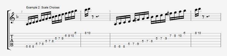Phrygian Chords  Ex 2