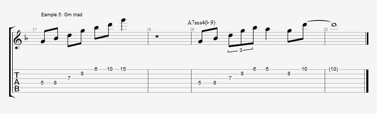 Phrygian Chords  Ex 5