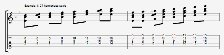Soloing with Chords Part 1 ex 3