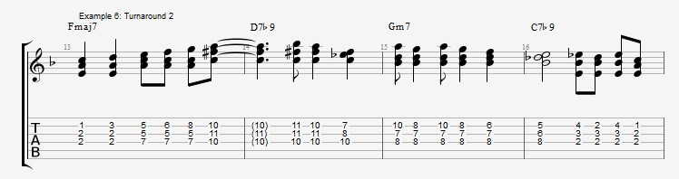 Soloing with Chords Part 1 ex 6
