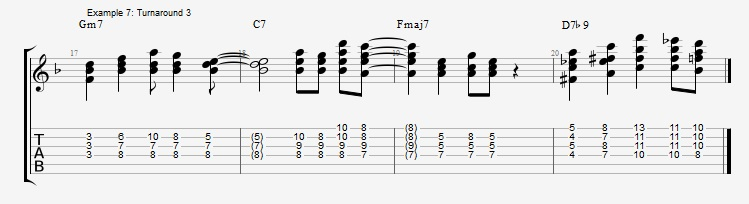 Soloing with Chords Part 1 ex 7