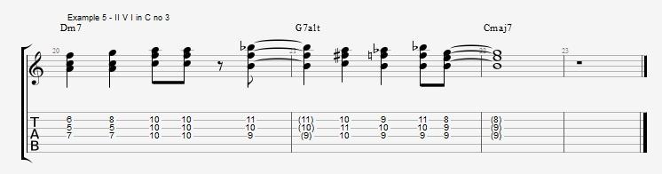 Chromatic Chords - Part 1 - ex 5