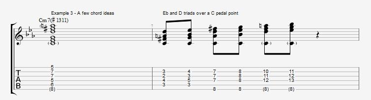4th mode Harmonic Minor - ex 3
