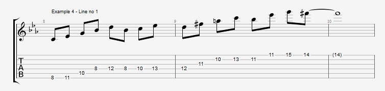 4th mode Harmonic Minor - ex 4
