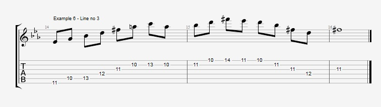 4th mode Harmonic Minor - ex 6