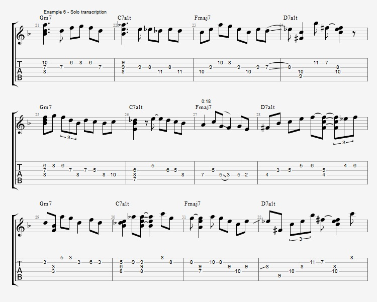 Adding Chords to Single Note Lines - Part 2 - ex 6 1