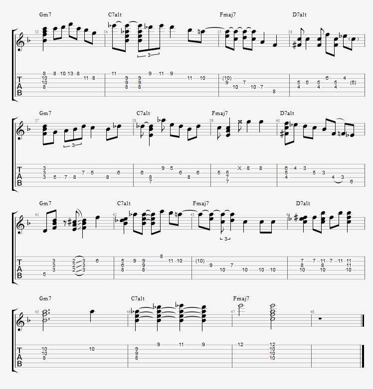 Adding Chords to Single Note Lines - Part 2 - ex 6 2