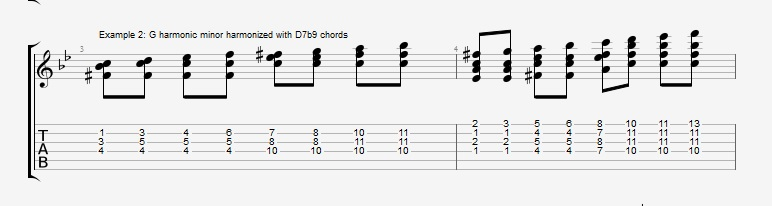 Soloing with Chords Part 2 ex 2
