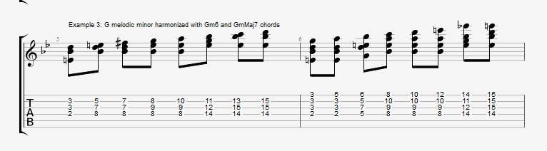 Soloing with Chords Part 2 ex 3