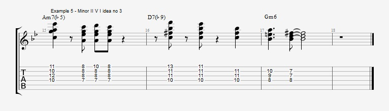 Soloing with Chords Part 2 ex 6