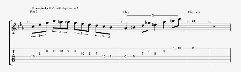 Triplet rhythms - Part 1 Ex 4