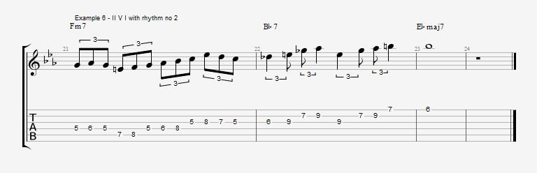 Triplet rhythms - Part 1 Ex 6