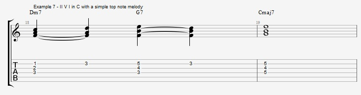 Rootless Voicings - Part 1 - Triads - ex 7