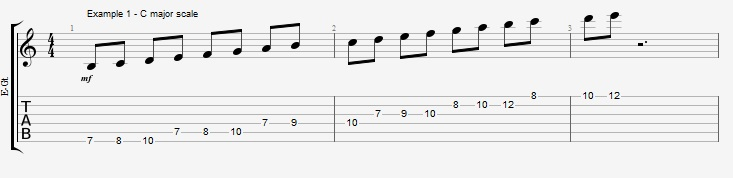 How to practice you scales and why - ex 1