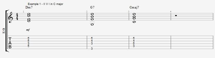 Making Jazz lines sound bluesy ex 1