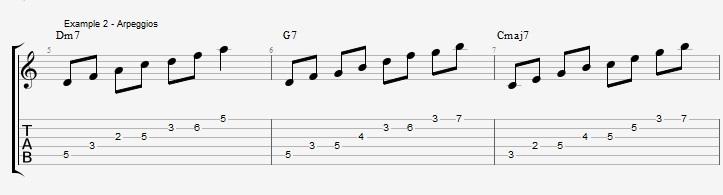 Making Jazz lines sound bluesy ex 2