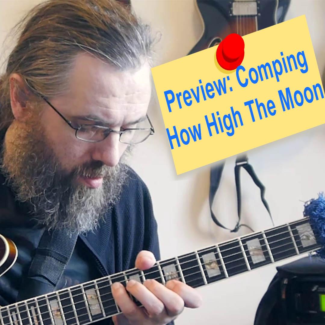 comping etude how high the moon jens larsen. Black Bedroom Furniture Sets. Home Design Ideas