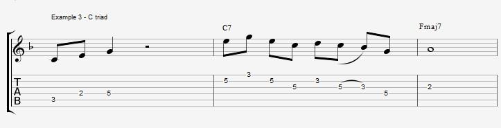 10 arpeggios over a dom7th chord - ex 3