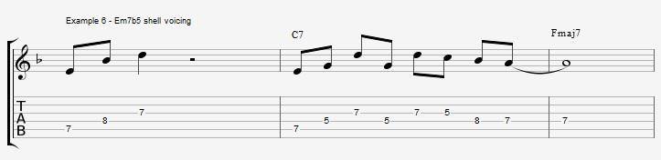 10 arpeggios over a dom7th chord - ex 6
